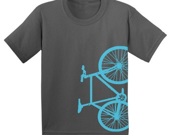 Fixed Gear Bicycle Fixie Bike Youth Shirt  - ON SALE!