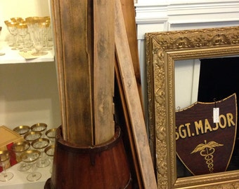 Vintage French Wooden Baguette Tray