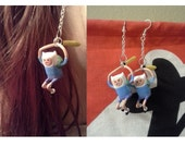 Battle Finn Earrings