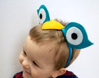 Colorful Owl Headband