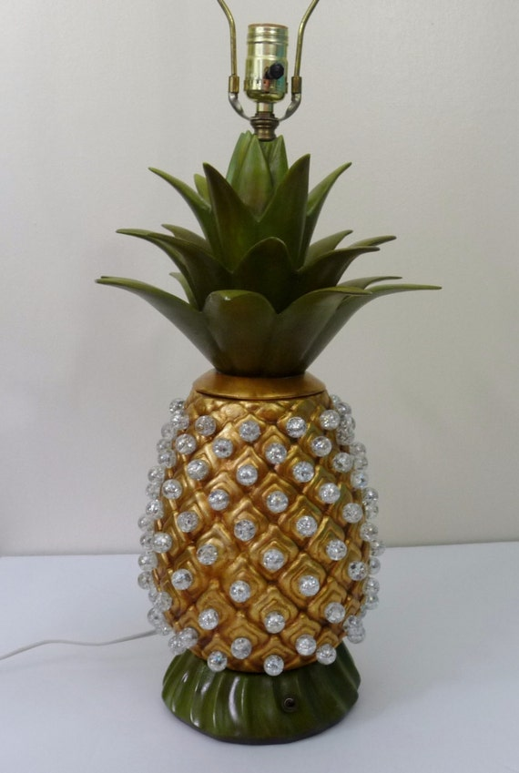 pineapple lamp gold pineapple orchid - Pineapple Lamp