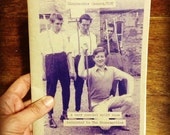 Disposable Camera/YOU split zine about The Housemartins