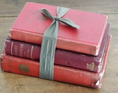 SET of 3 1920's red book collection