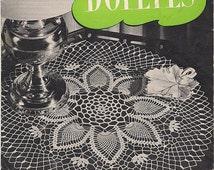 1947 Doilies - J & P Coats Book 235 - Old Fashioned Decorating - Crochet Doilies