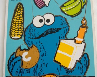 Cookie Monster Puzzle,  1973