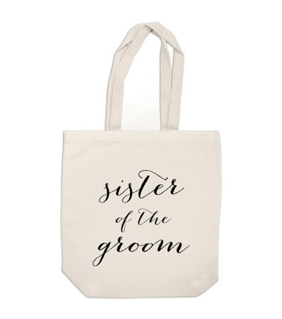 wedding party gifts Sister of the Groom gift by ExLibrisJournals