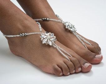 Wedding Barefoot Sandals Destination Wedding Foot Jewelry Beach Wedding