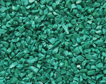 1 oz Dark Green Opal Glass Frit 96 Coe For Lampwork Glass Beads Fused Glass K-241