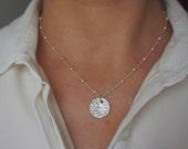 Bambu necklace Sterling Silver