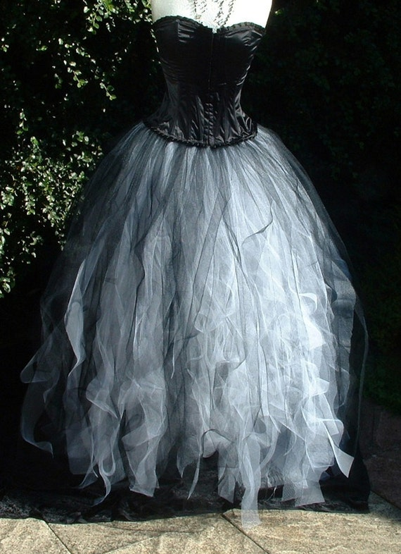Unavailable listing on etsy for How to make a long tulle skirt for wedding dress