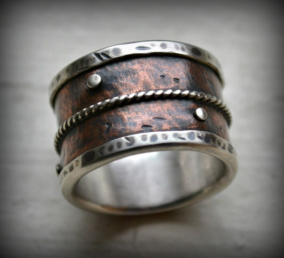 like this item - Wide Band Wedding Rings