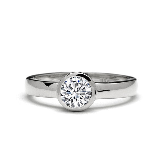 items similar to low profile 0 60ct engagement