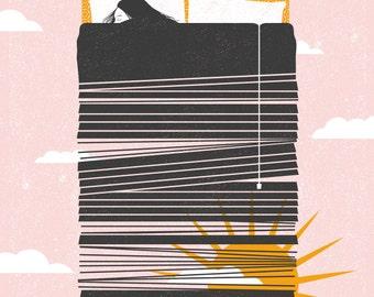Courtney Barnett, Screen print Gig Poster