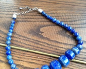 Stunning Blue Stone Necklace