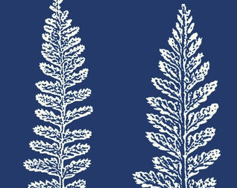 J916 Rolling Mill (Fern Leaves) Rollerprint Pattern