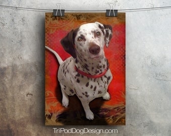 Liver Spotted Dalmatian - Digital Download Printable