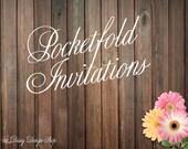 Pocketfold Invitation Sample