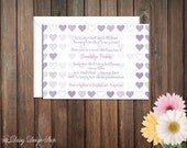 Baby Shower Invitation - Heart Scribble Sketches - Colorful Baby Girl