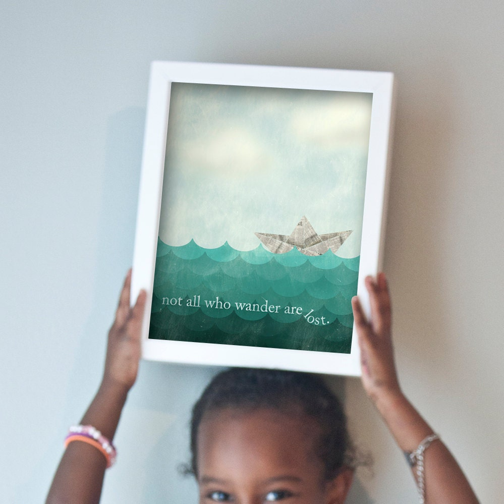 Printable 8x10 All Who Wander