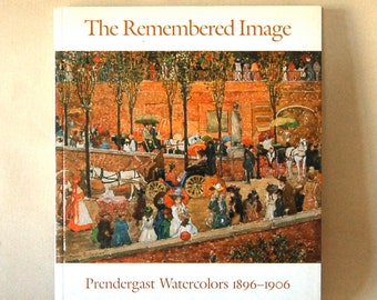 Vintage Prendergast  Watercolors Art Book, Paperback Full of Fabulous Color Prints