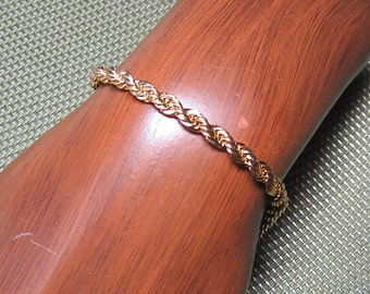 Vintage Rope Chain Bracelet