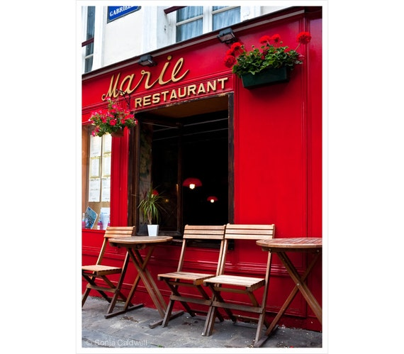 Items similar to marie restaurant montmartre paris