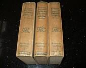 Romain Rolland, 3 Books, Literature Fiction, Literary Fiction, German Language Books,  Book Sets, Antique German Books,