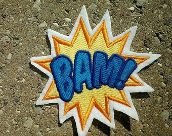 Bam Patch,comic,super hero