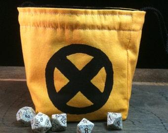 X-men Inspired Dice Bag