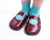 DIY Kids Leather Kimisha Shoe Pattern with Video