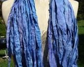 Super Soft Luxurious Silk Ribbon 60 to 70 Yards Cornflower Blue