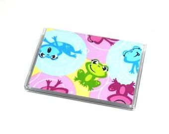 SALE Card Case Mini Wallet Bubble Frogs