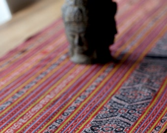 Vintage handwoven textile from Timor, Indonesia