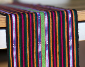 Handwoven textile from Lombok, Indonesia