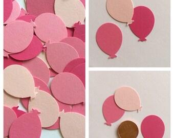 100 Mixed Pinks Balloon confetti, Balloons, Party Confetti, Table Decoration, Scrapbook embellish, Party, Confetti, Shower decorations