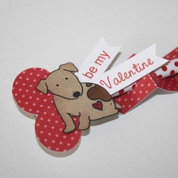 Dog Valentine Toys : Items similar to dog valentine treats classroom