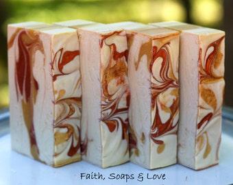 Three Wise Men - Homemade Bar Soap - Frankinsense - Myrrh - Patchouli - Sandalwood - Handmade Soap Cold Process