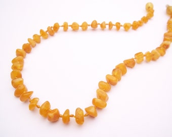 Natural  Baltic Amber Teething Necklace for your  Baby. Pain relief effective.