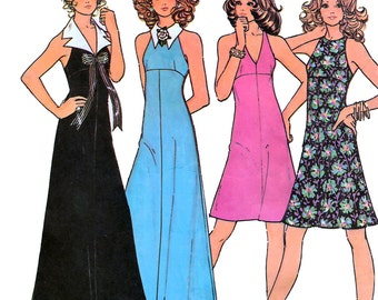 McCall's 3415 Misses' and Junior Dress with Detachable Collars Sewing Pattern - Uncut - Size 11 - Bust 33.5