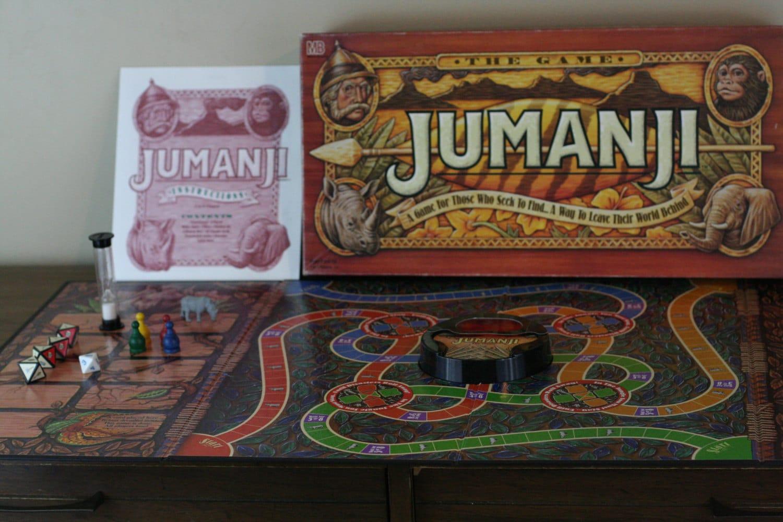 Jumanji Board Game Com... Jumanji Board Game