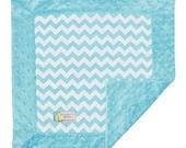 Security Blanket, Minky Baby Blanket, Baby Lovey, Baby Boy Blanket, Chevron Baby Blanket, Minky Baby Gifts, Minky Baby Boy Blanket