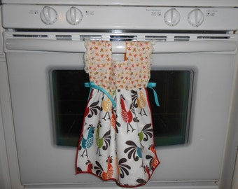Rooster Kitchen Dress Towel