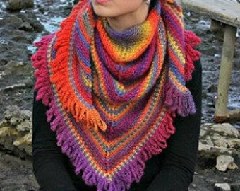 CROCHET PATTERN: Weave Shawl - Permission to Sell Finished Product