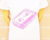 Women - Neon - Cassette 80's - T-Shirt - Shirt
