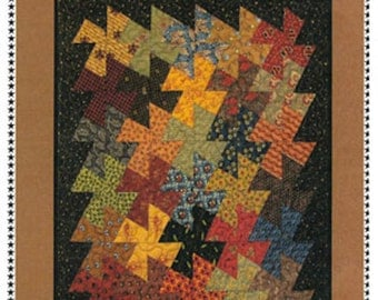 Primitive Pinwheels Quilt Pattern with Twister Tool by Primitive Gatherings  PRI946