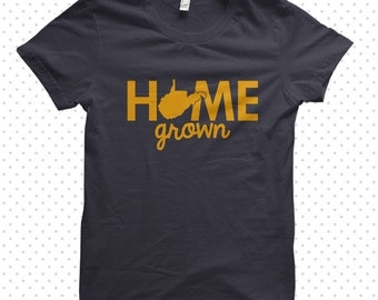 Home Grown | West Virginia T-Shirt (MADE TO ORDER)