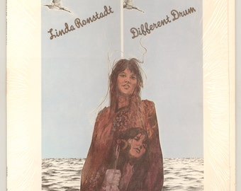 Linda Ronstadt, Different Drum, 1974 Her First Compilation LP, Includes The Stone Poneys, Vintage Vinyl Record Album Capitol LP ST-11269