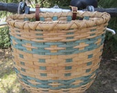Bicycle Basket / Bike Basket / Handwoven Basket