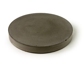 Concrete Trivet. Concrete Dish. Bottle Coaster