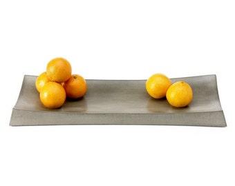 Gray Concrete Simple Tray. Display Tray. Concrete Tray